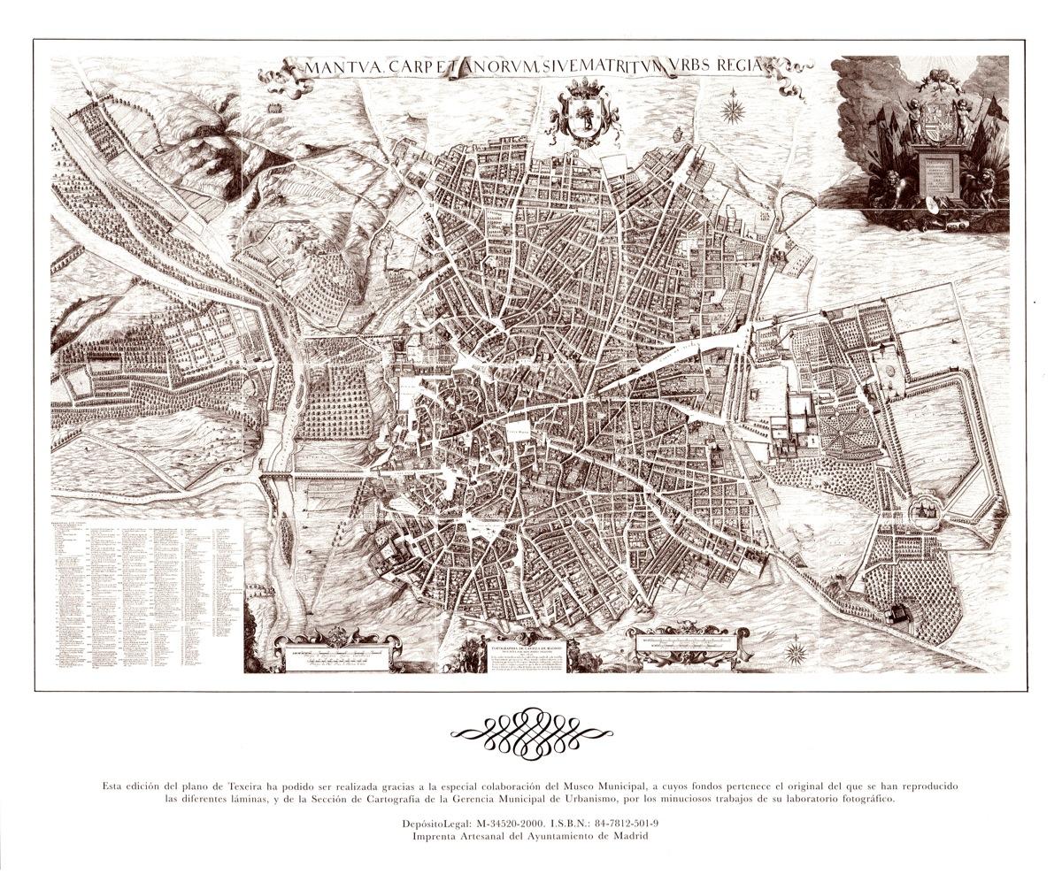 Plano de Teixeira, 1656