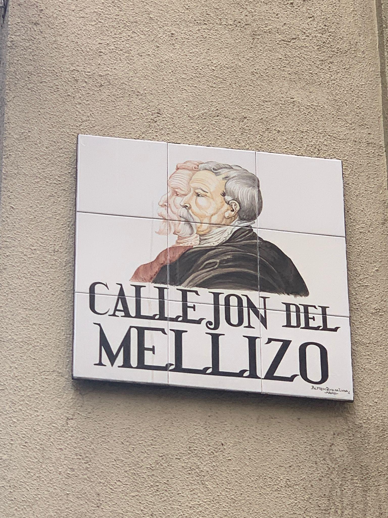 Placa Callejón del mellizo