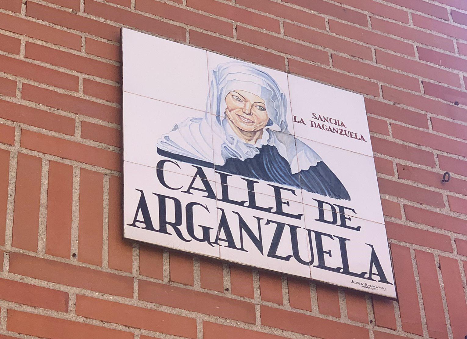 Placa calle arganzuela