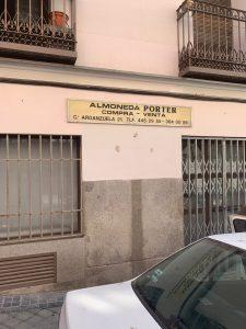 almoneda porter arganzuela