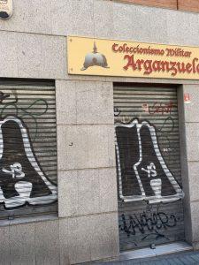 coleccionismo militar arganzuela