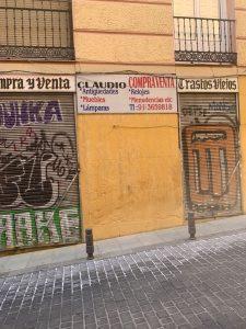 compra y venta antiguedades calle rodrigo de guevara