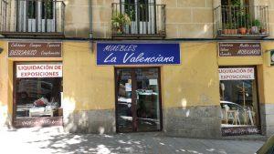 muebles la valenciana calle de la ribera de curtidores.