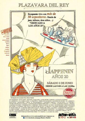 Cartel baja jappenin años 20
