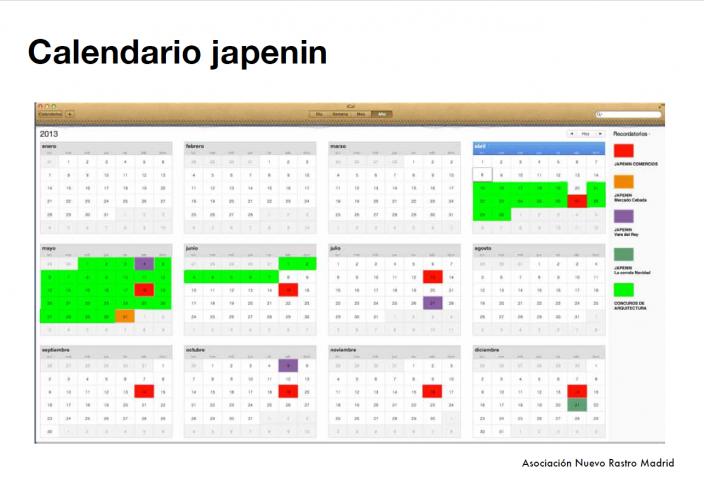 japenin primavera saltamontes calendario